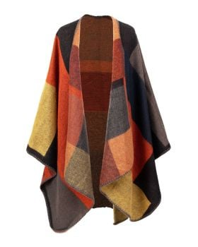 Tangerine Marjorie Wrap from Powder Design