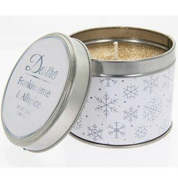 Desire Xmas Candle Tin Frankinsense