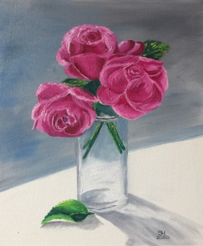 Rose - size A4