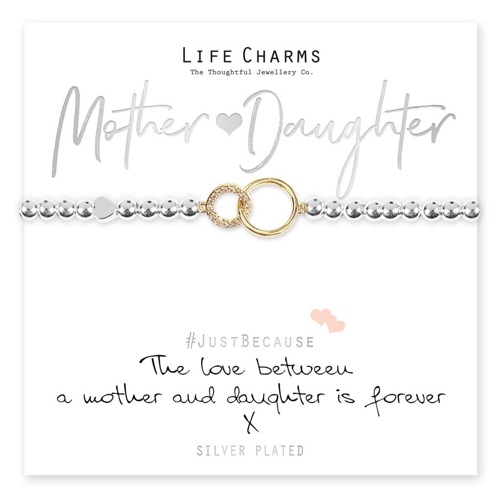 The Love Between A Mother & Daughter Is Forever Bracelet