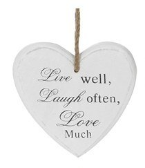 Plaque - Live Well, Laugh Often, Love Much