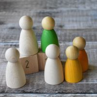 6.5cm tall rounded body figures - suitable for under 36 months - different pack sizes available!