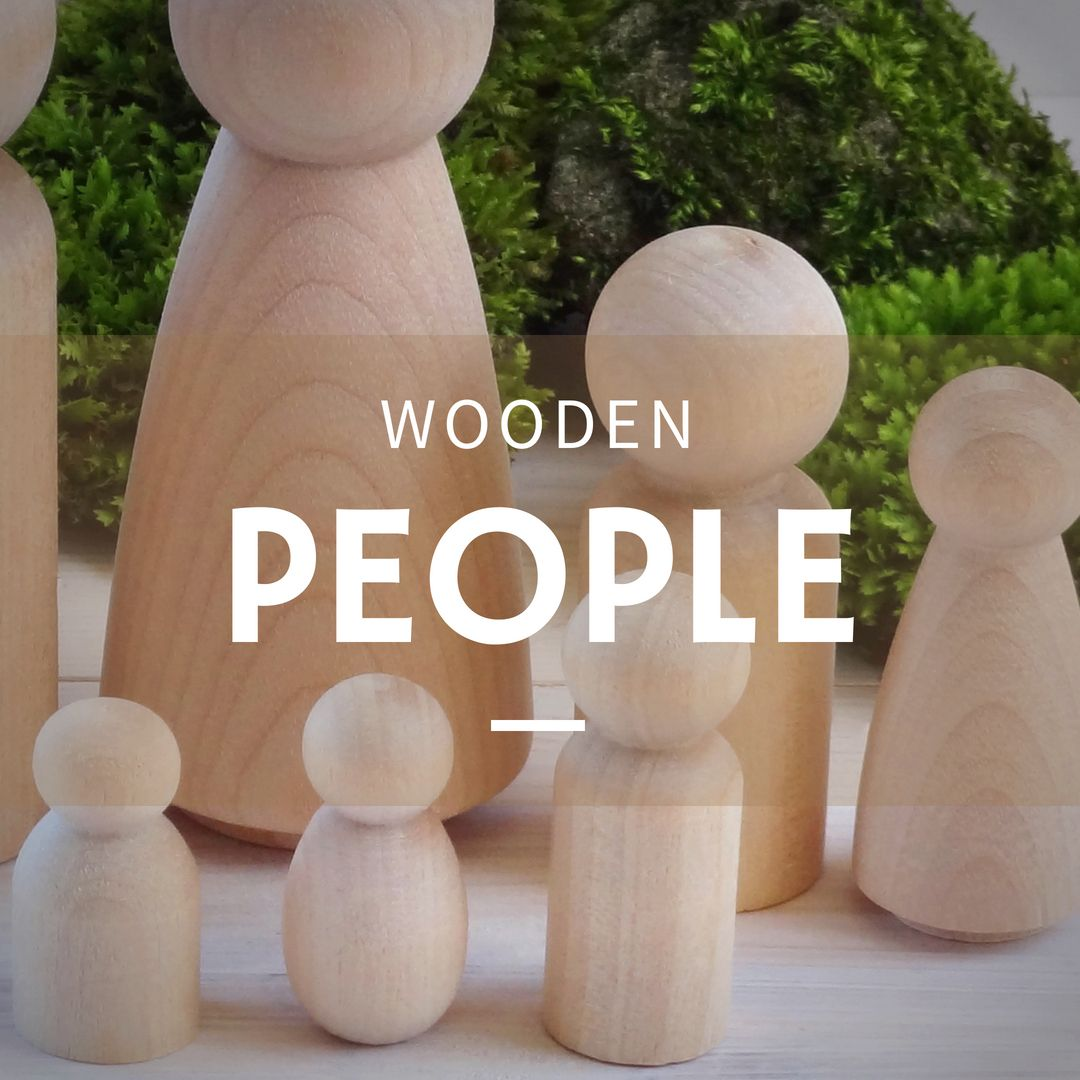 Shop wooden people