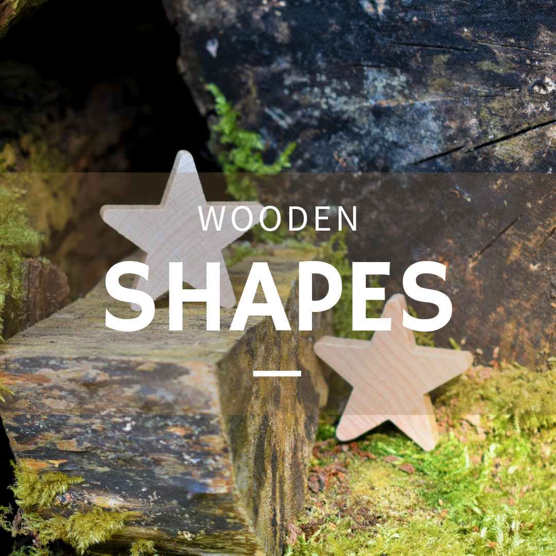 Shop wooden shapes