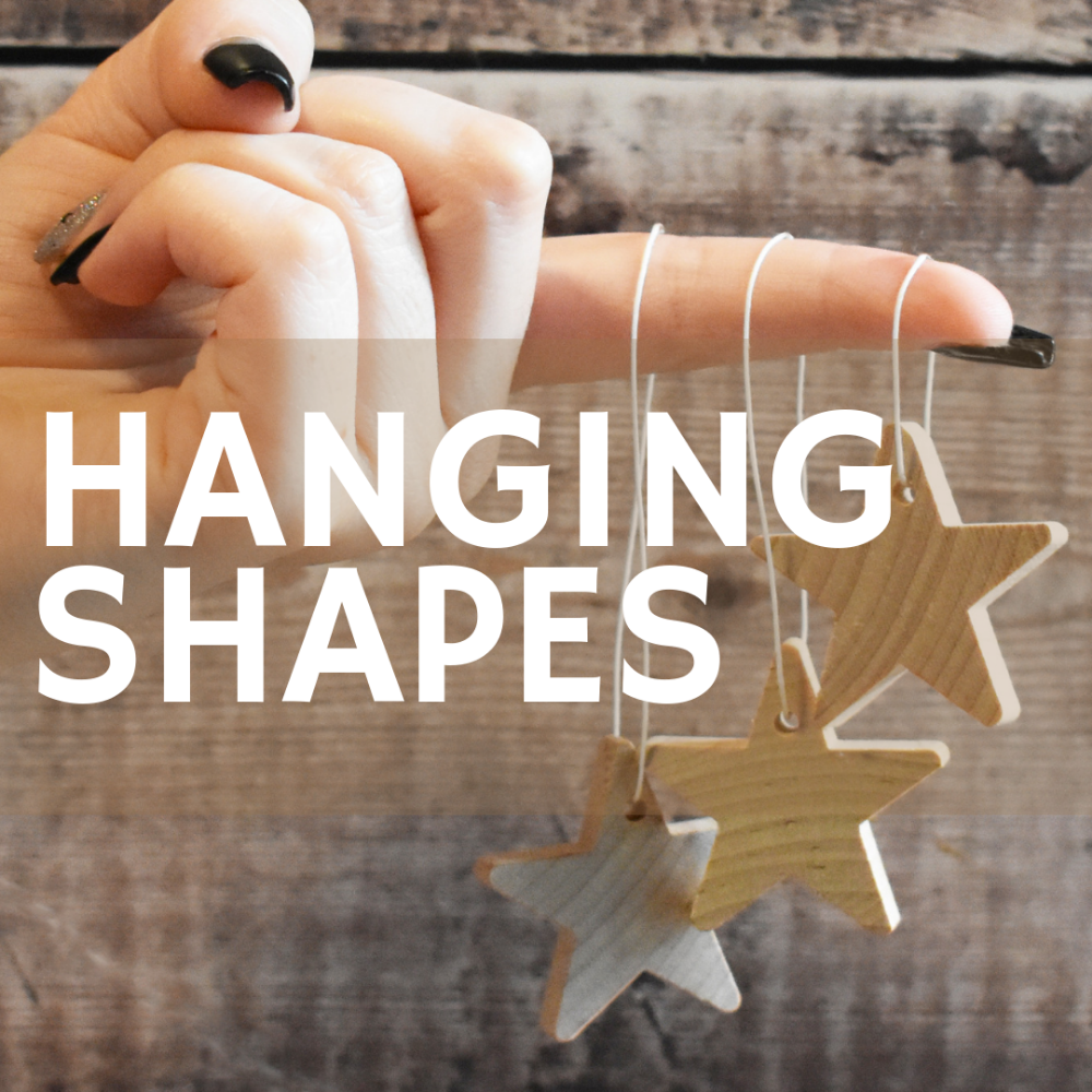 Hanging shapes
