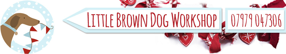 Little Brown Dog Workshop, site logo.