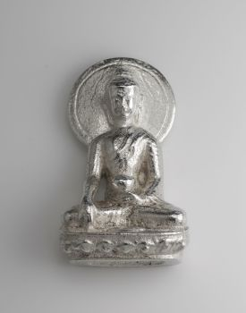 Buddha statue - silver