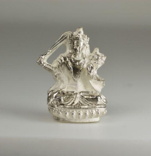 Manjushri pendant - silver