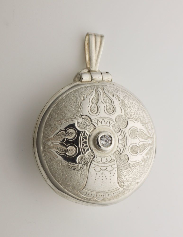 Large Vajra & Bell locket