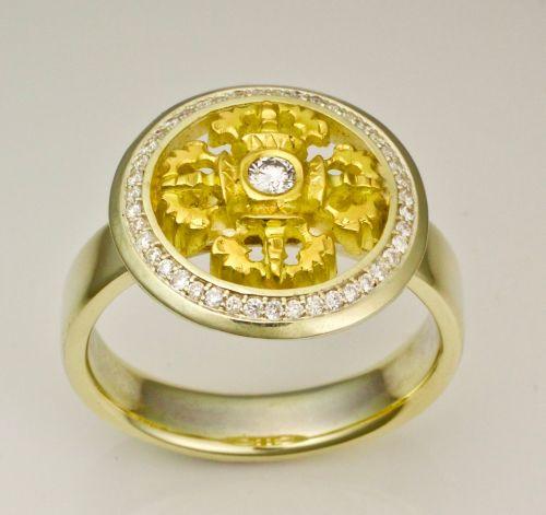 Double dorje ring