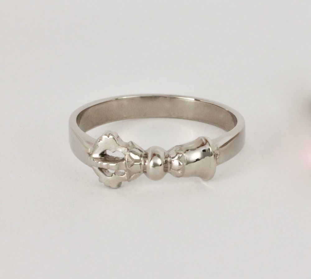 Bell ring - large silver