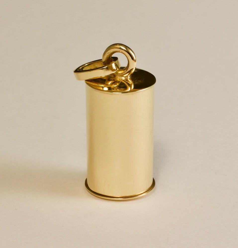 Small tube gau - gold