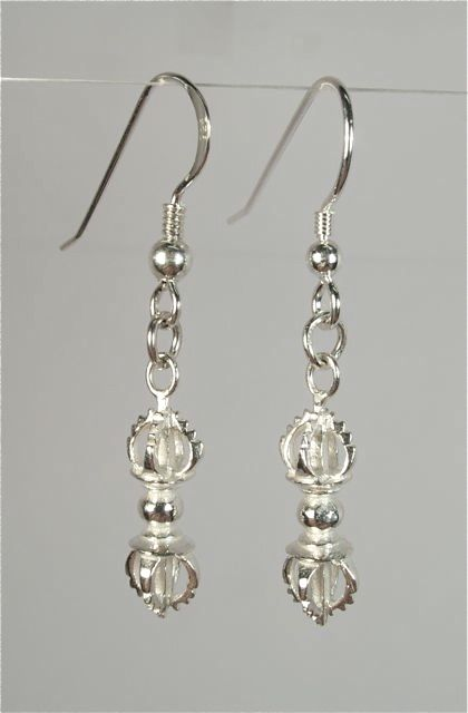 Vajra drop earrings