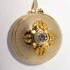 gold and diamond locket