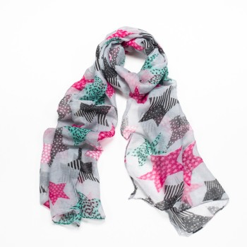 Star Scarf - Multi-coloured