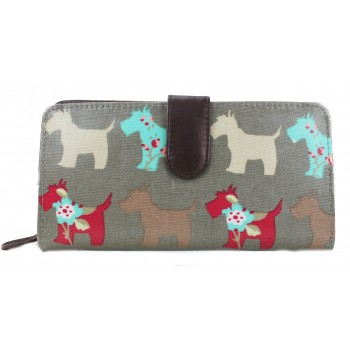 Scottie Dog Purse - Grey