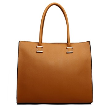Square Shoulder Bag - Tan