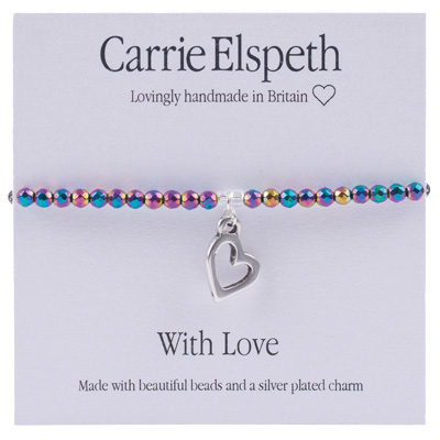 Carrie Elspeth - With Love Sentiments Bracelet