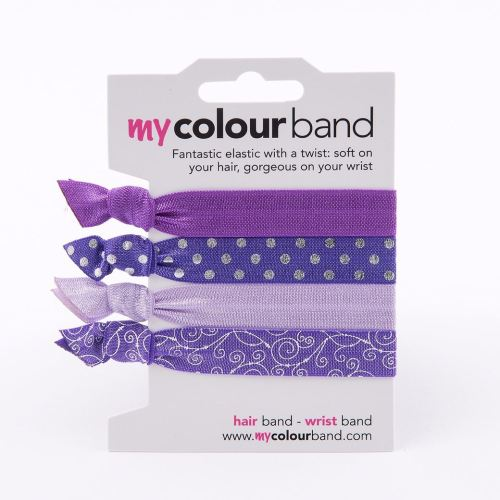 500x500purple colour bands