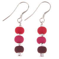 Carrie Elspeth - Carnival Berry Earrings