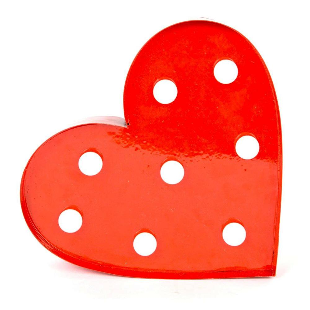 Red Heart LED Wall light