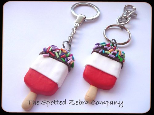 Fab® Ice Lolly Keyring