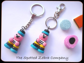 NEW Extra Large Replica Bertie Bassett® - Keyrings