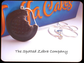 Jaffa Cake Necklace