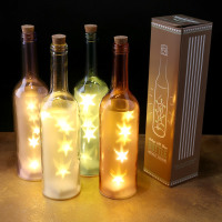 Vintage LED Glass Light Bottle