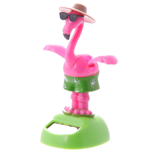 Dancing Flamingo with Sunglasses