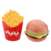 Burger and Chips - Salt and Pepper Set
