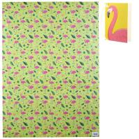 Flamingo & Pineapple Wrapping Paper