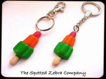 Rocket Lolly Keyrings