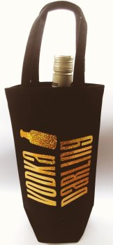 'Drink of your choice' Bottle Bag - can be personalised