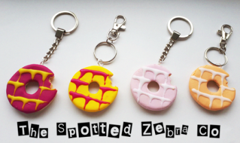 Party Ring Keyrings