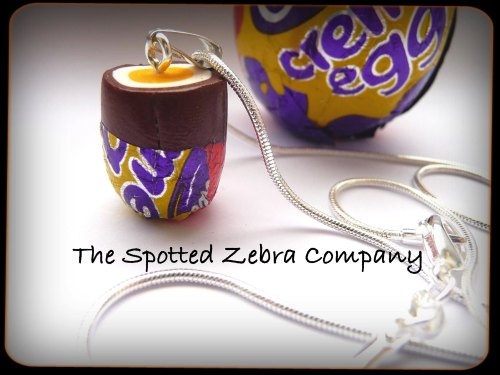 Replica Creme Egg Necklace