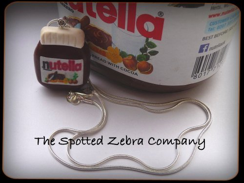 Replica Nutella® Jar - Necklace