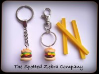 Replia Cheeseburger - Keyrings