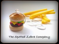 Replica Cheeseburger - Necklace