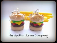 Replica Cheeseburger - Earrings
