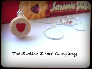 Replica Jammie Dodger® Biscuit (small) - Necklace