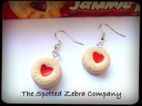 Replica Jammie Dodger® Biscuit (small) - Earrings