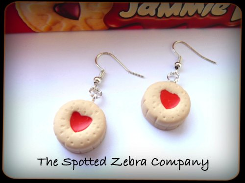 Replica Jammie Dodger® Biscuit - Earrings