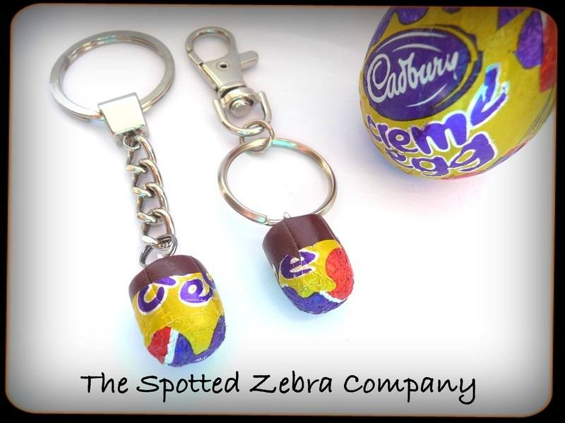 Creme egg keyrings