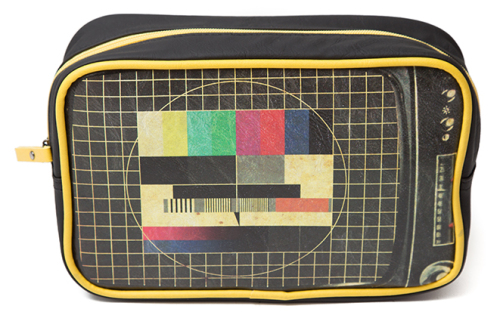 Plan B - TV Test Card Wash Bag