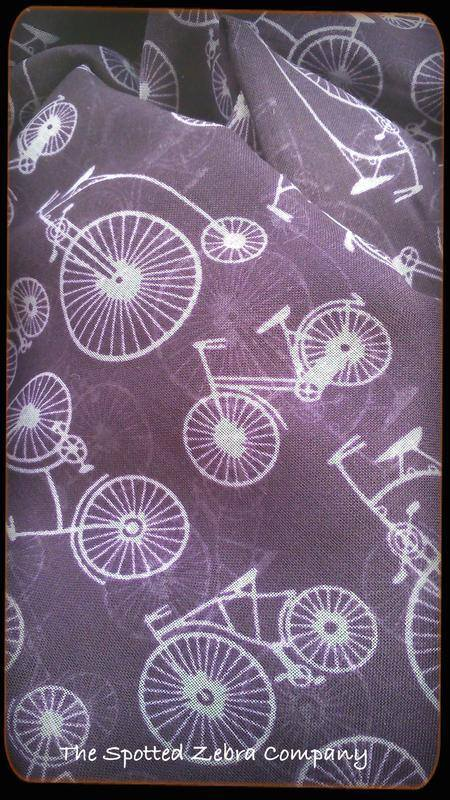 Purple Bicycle Scarf