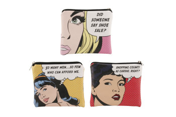 Pop Art Coin Purse