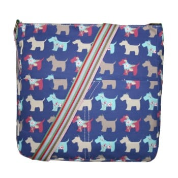 Dog Canvas Bag - Navy