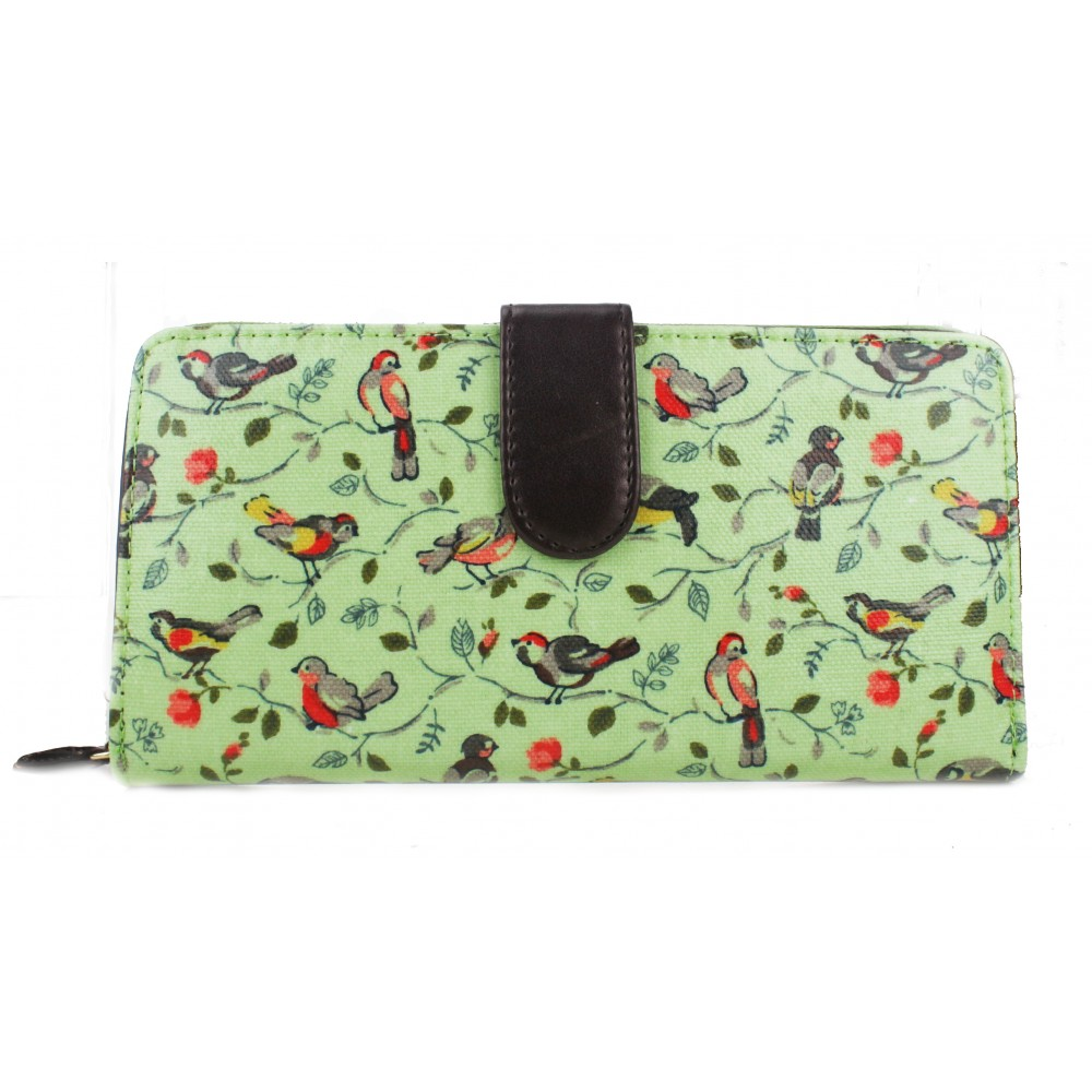 Birds Purse - Green