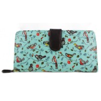 Birds Purse - Blue